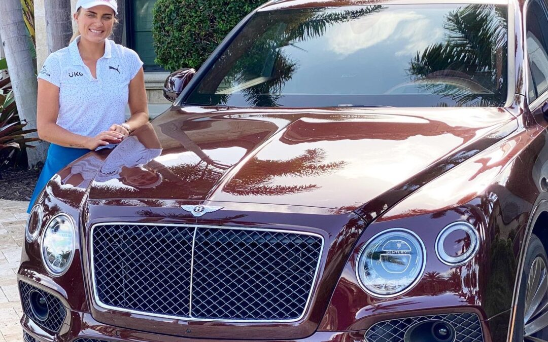 Lexi Thompson Grows Off-Course Profile With Bentley, Brand Launch